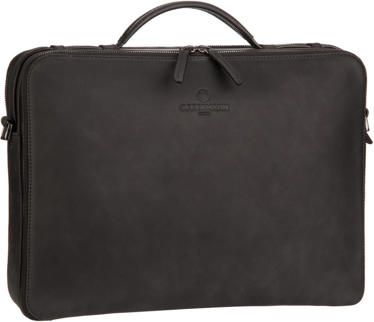 Offermann Workbag M Fine Carbon Black - Aktenmappe