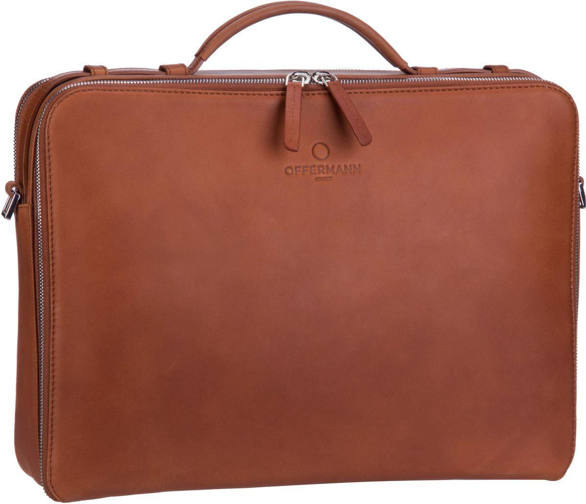 Offermann Workbag M Fine Cognac - Aktenmappe