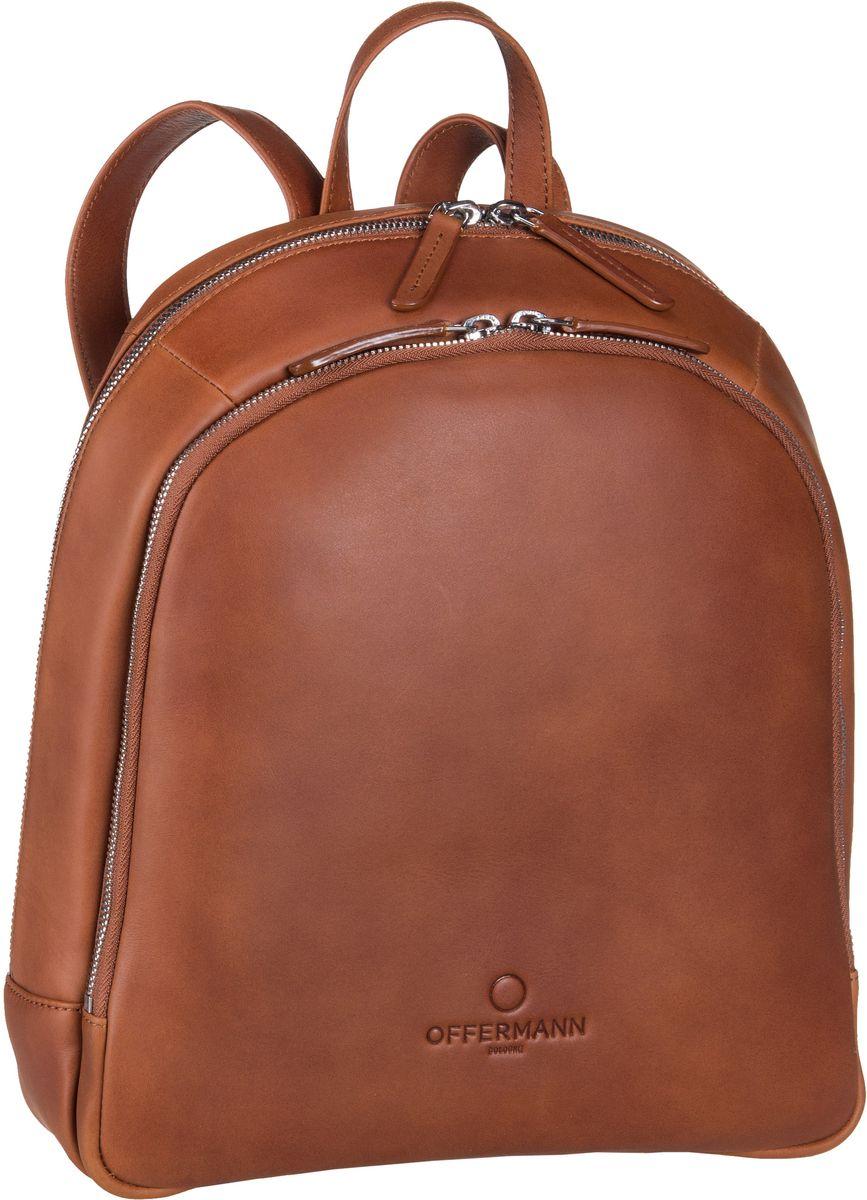 Offermann Backpack Women Fine Cognac - Laptopru...