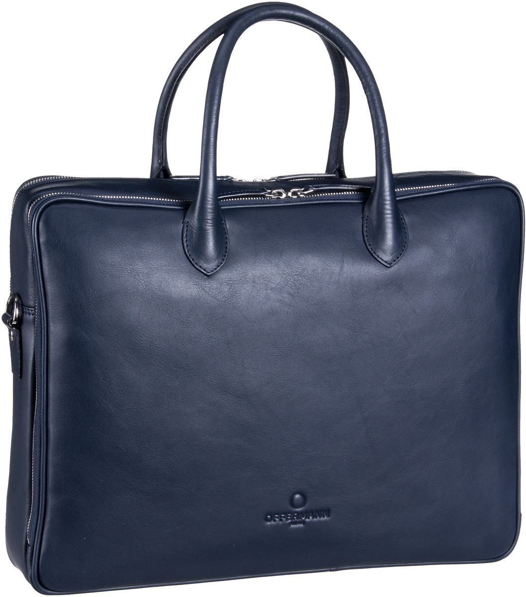 Offermann Workbag Slim Tender Universe Blue Aktentasche