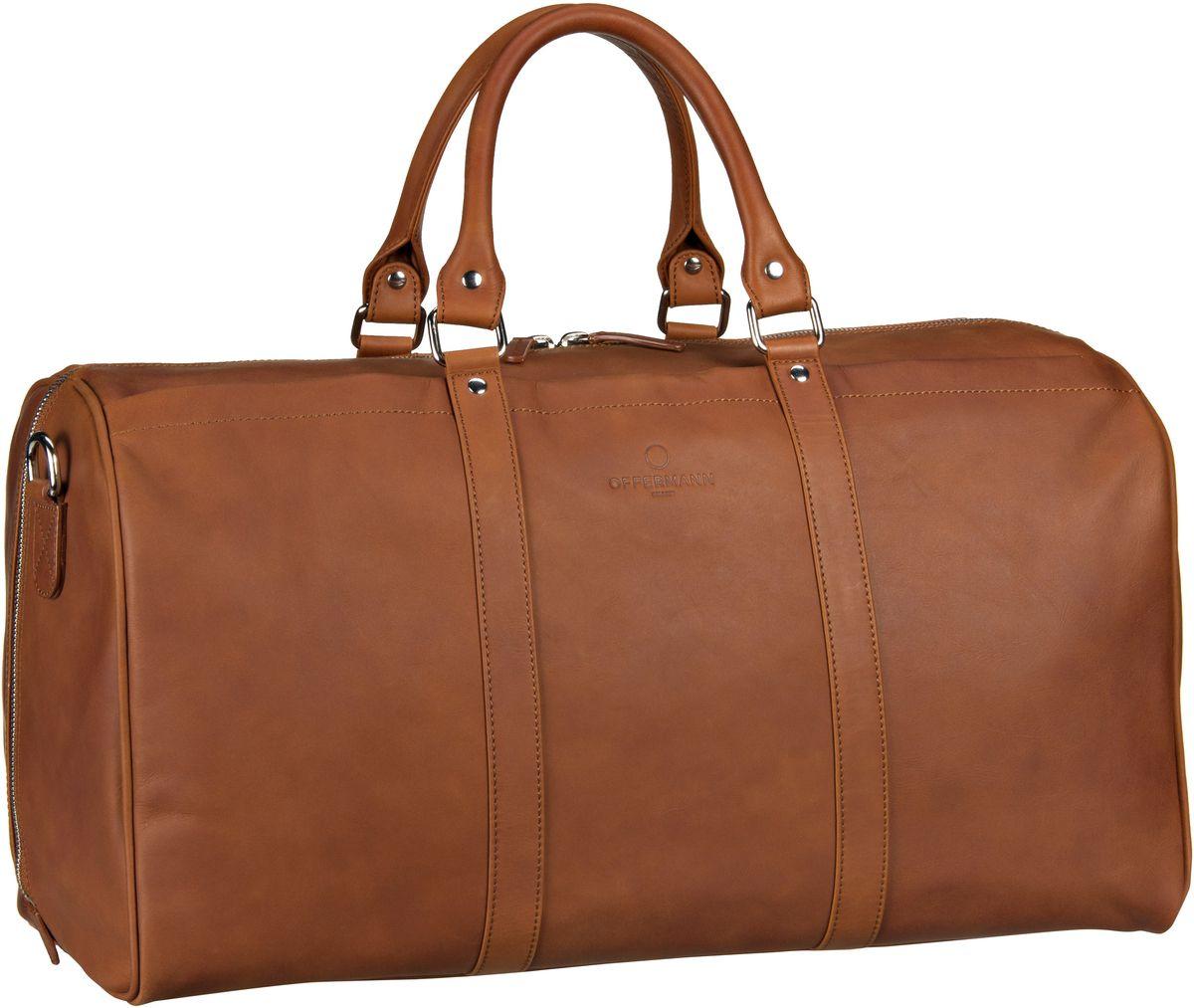 Offermann Duffle Bag Fine Cognac - Reisetasche