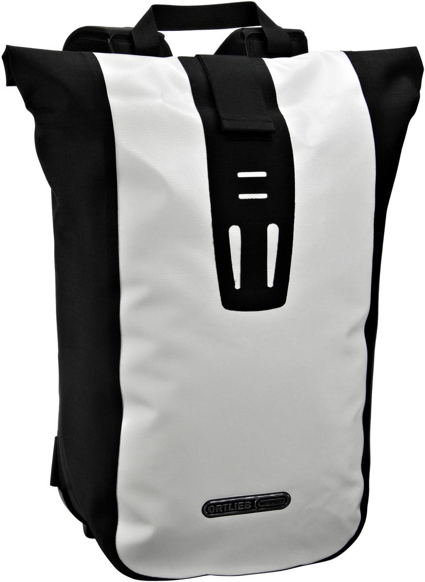 Rucksack / Daypack Velocity Weiß-Schwarz (24 Liter)