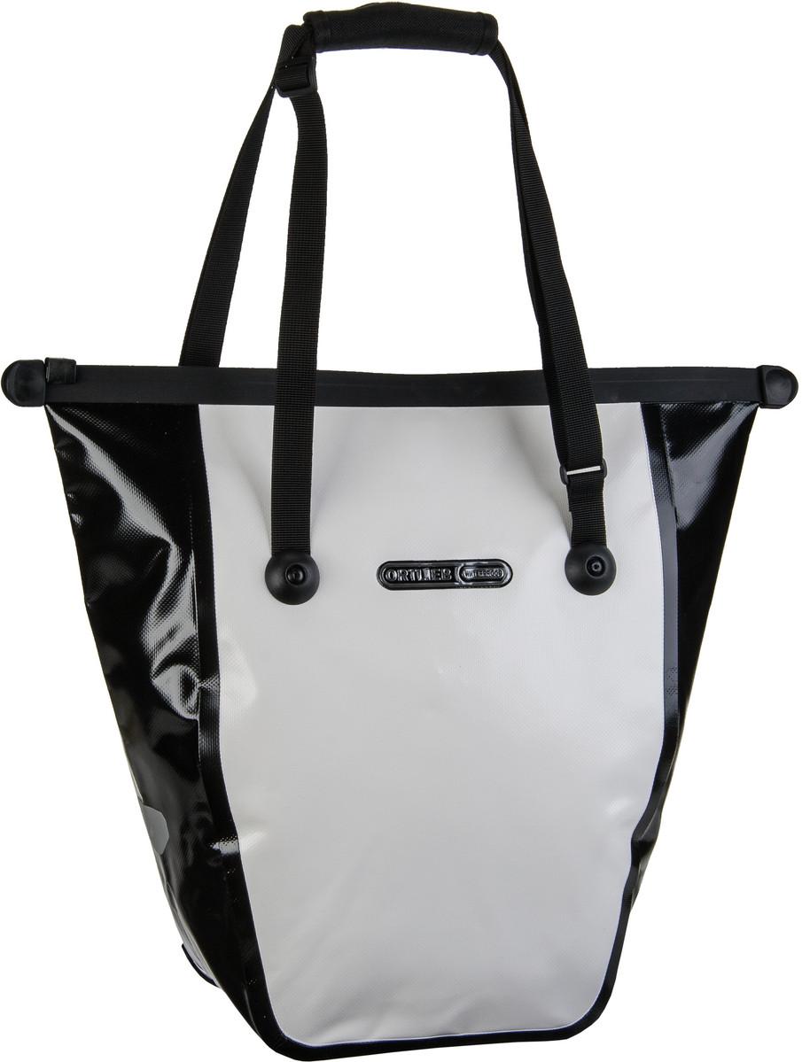 Ortlieb Bike-Shopper Weiß-Schwarz - Fahrradtasche