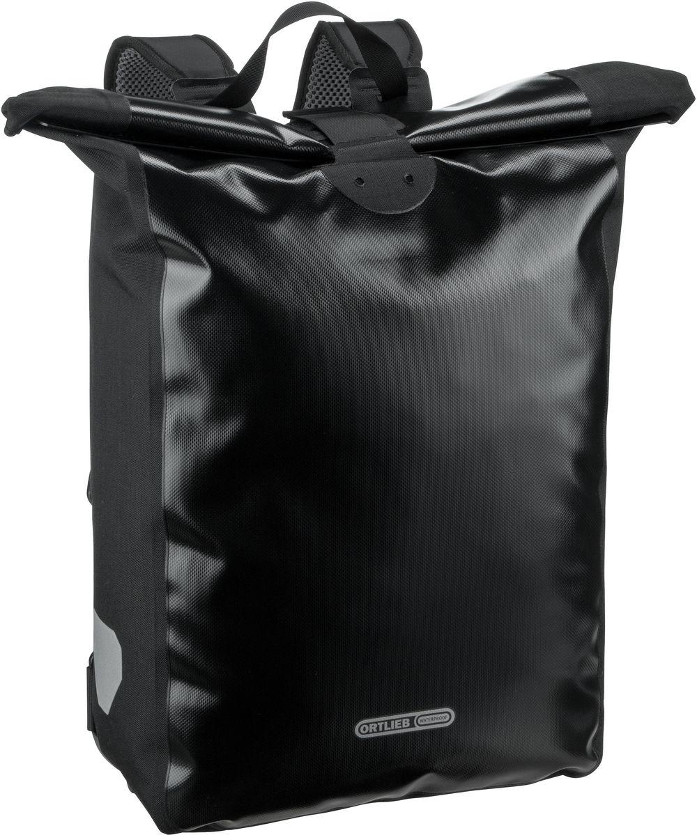 Rucksack / Daypack Messenger-Bag Schwarz (39 Liter)
