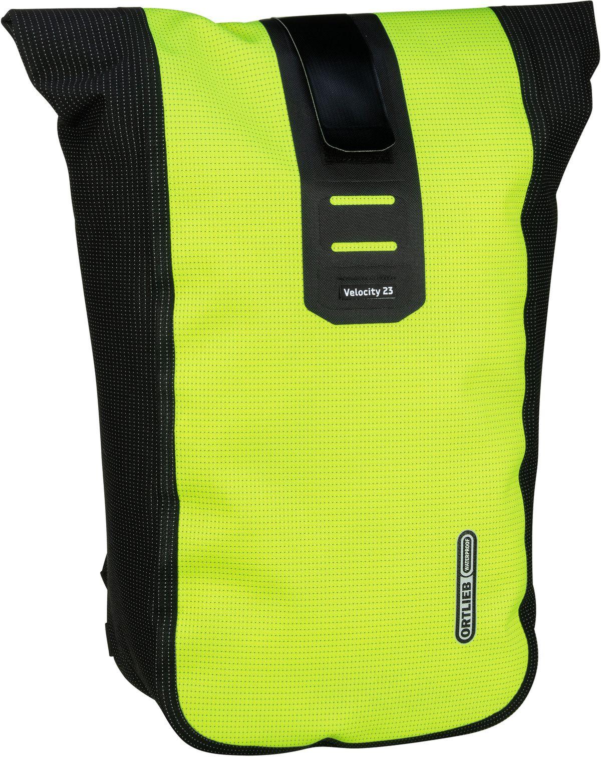 Rucksack / Daypack Velocity High Visibility Neongelb-Schwarz Reflex (23 Liter)