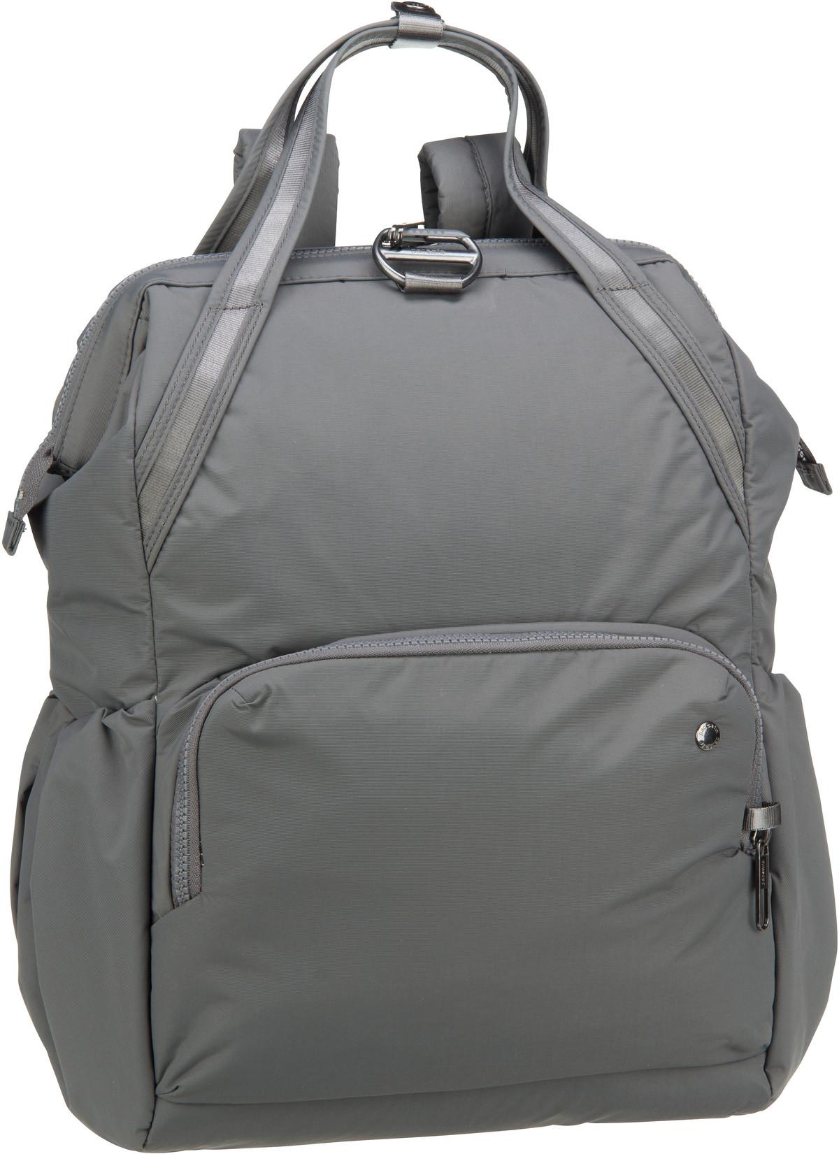 Rucksaecke - Pacsafe Laptoprucksack Citysafe CX Backpack Econyl Storm (17 Liter)  - Onlineshop Taschenkaufhaus