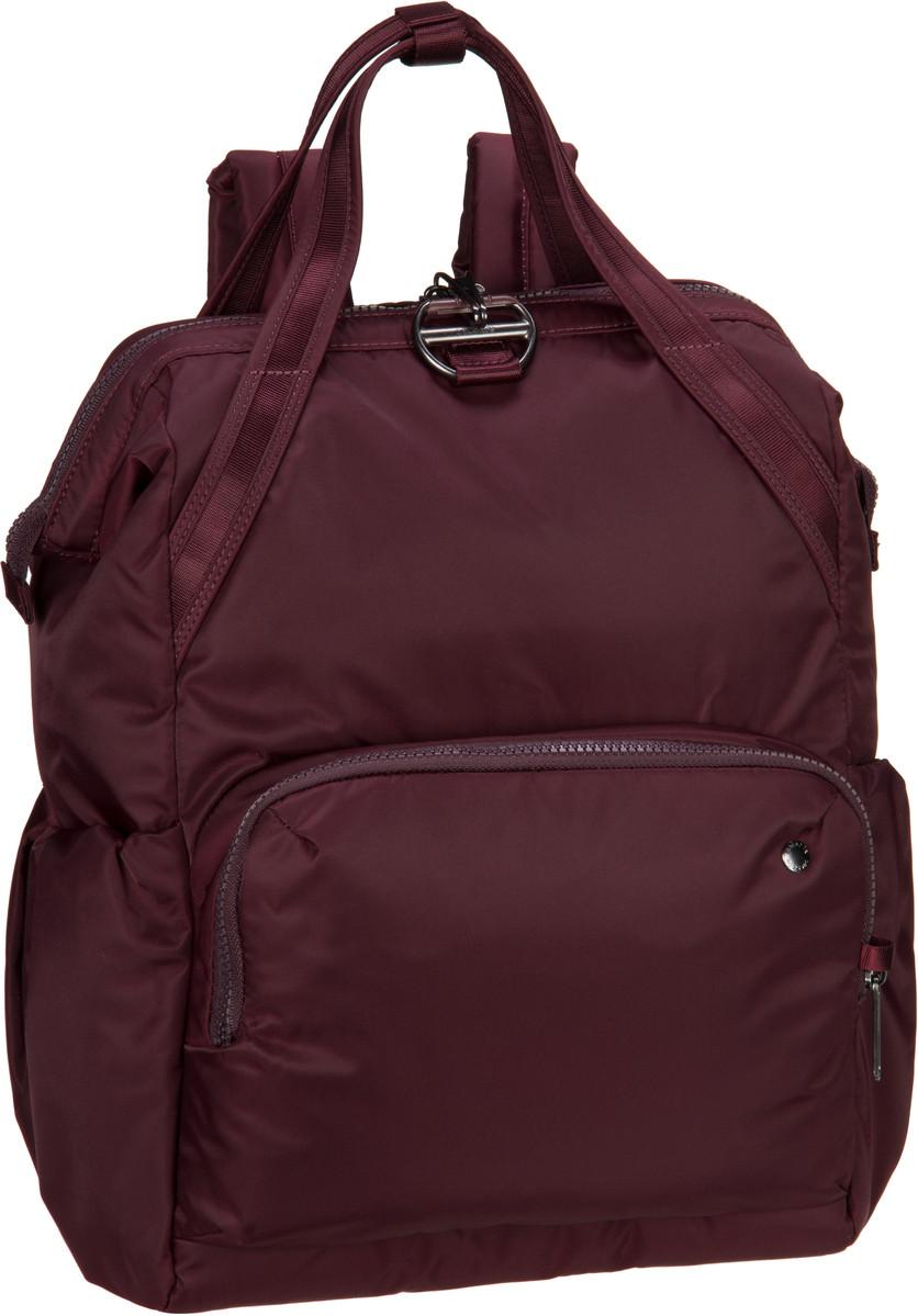 Rucksaecke - Pacsafe Laptoprucksack Citysafe CX Backpack Merlot (17 Liter)  - Onlineshop Taschenkaufhaus
