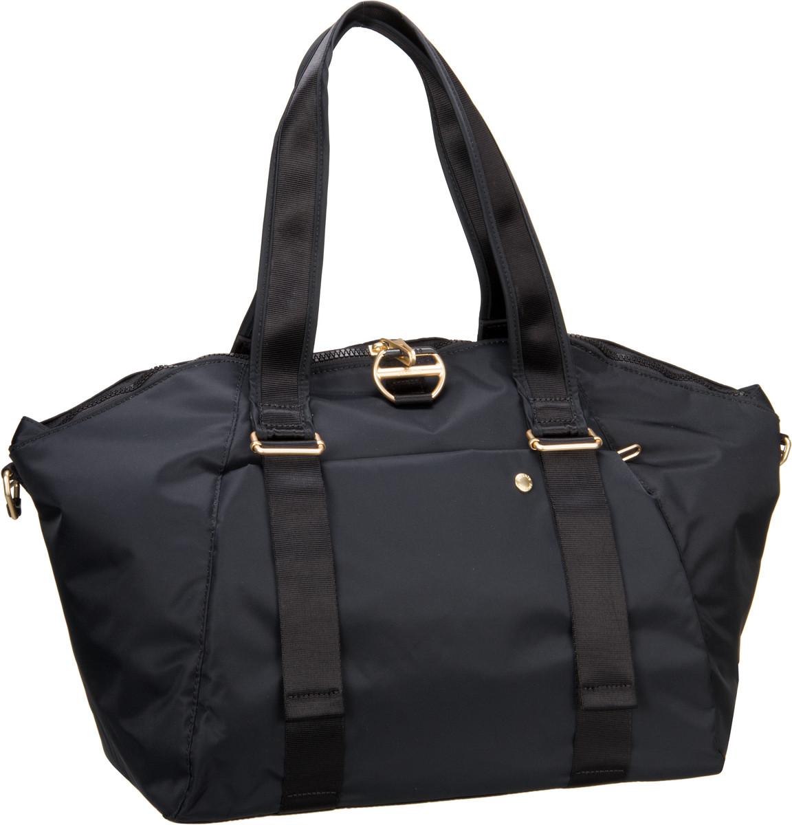 Pacsafe Handtasche Citysafe CX Tote Black (20 Liter)
