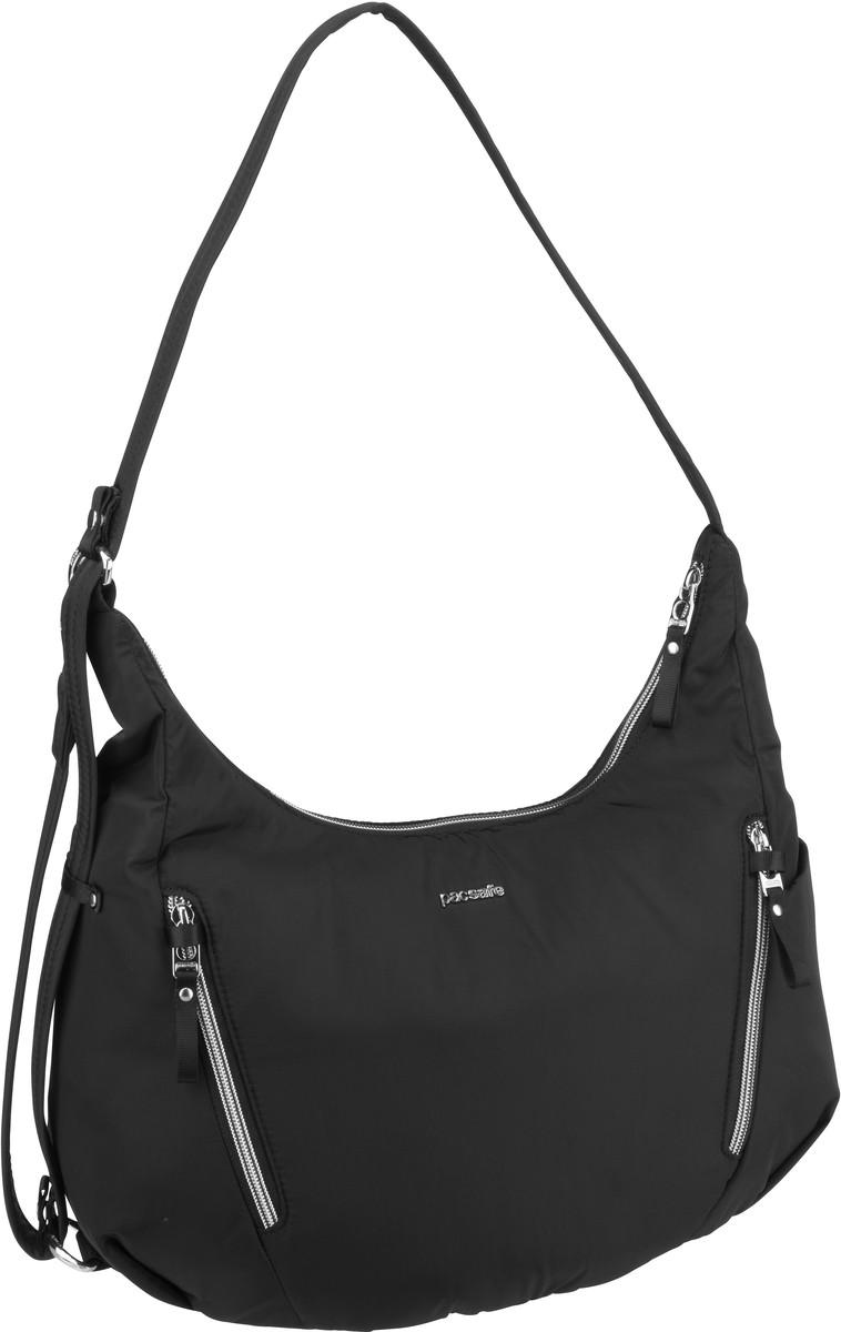 Pacsafe Handtasche Stylesafe Convertible Crossbody Black (10 Liter)