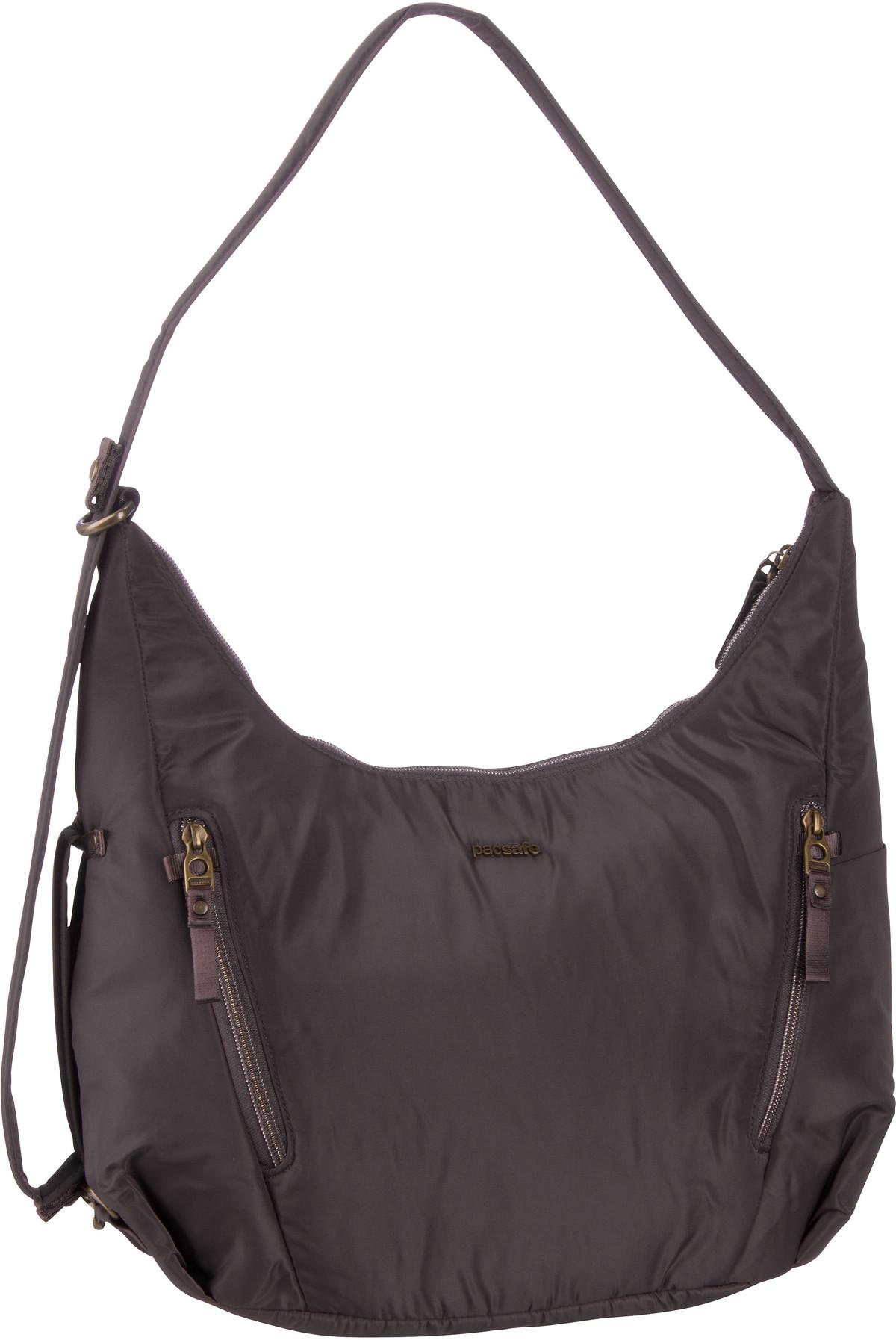 Pacsafe Handtasche Stylesafe Convertible Crossbody Mocha (10 Liter)