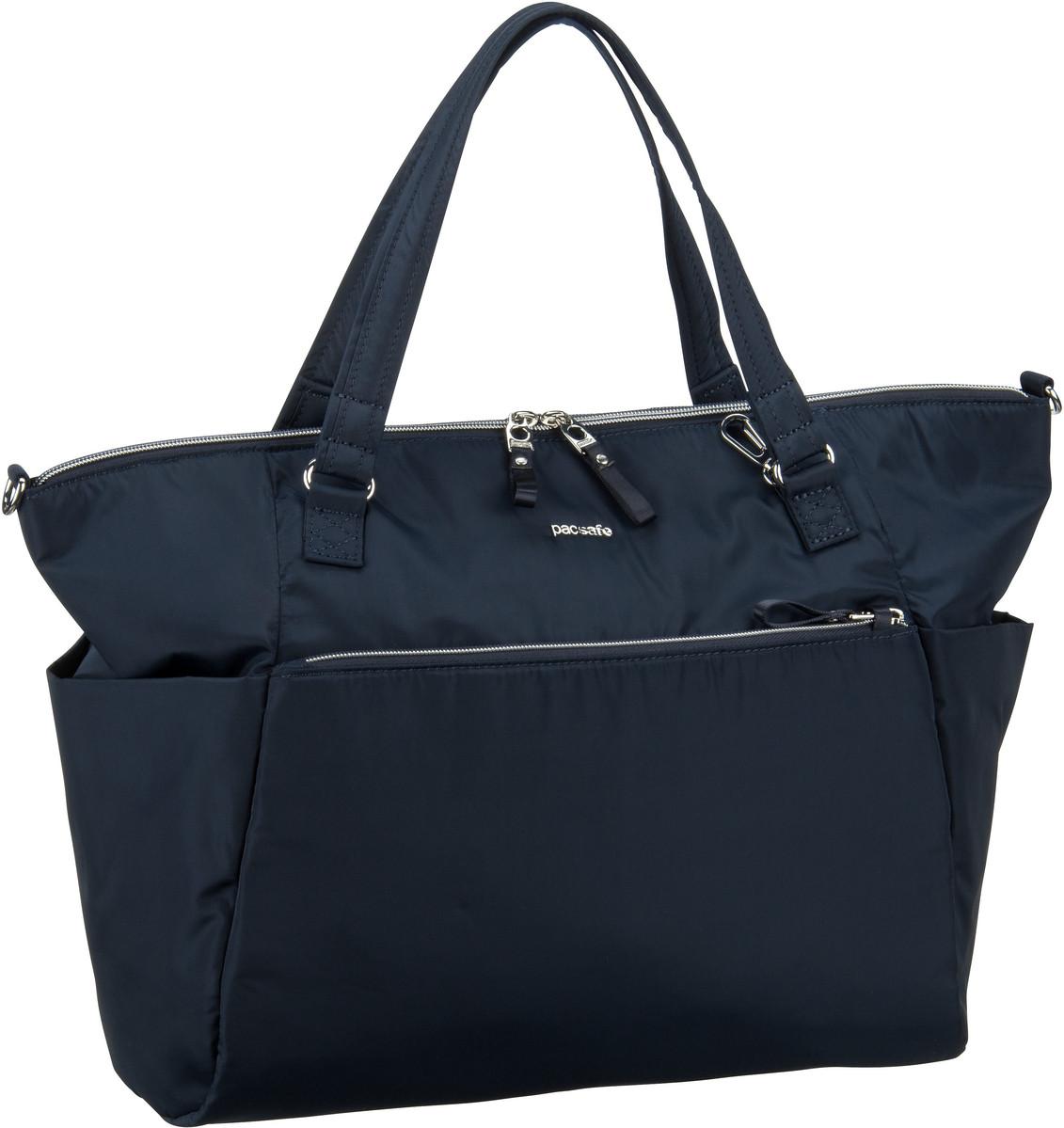 Pacsafe Handtasche Stylesafe Tote Navy (14.5 Liter)