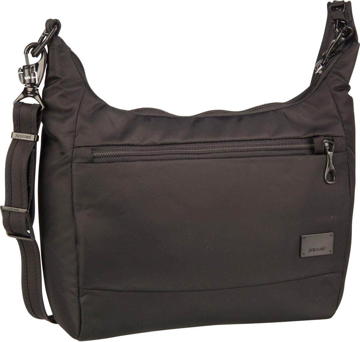 Pacsafe Umhängetasche Stylesafe CS100 Handbag Black (5 Liter)