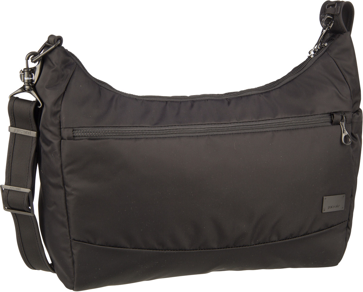 Pacsafe Umhängetasche Citysafe CS200 Handbag Black (10.5 Liter)