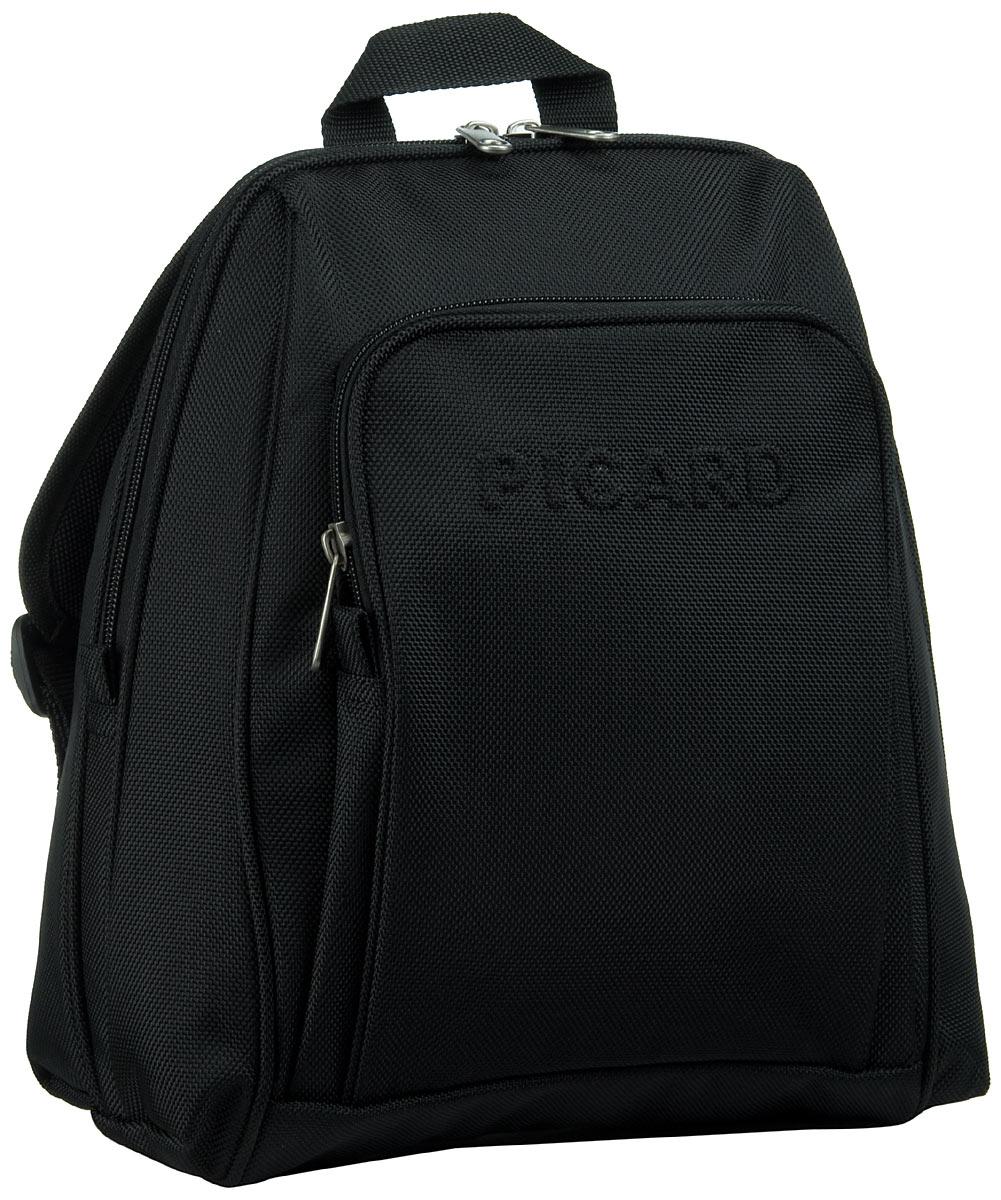 Rucksaecke für Frauen - Picard Rucksack Daypack Hitec Damenrucksack Schwarz  - Onlineshop Taschenkaufhaus