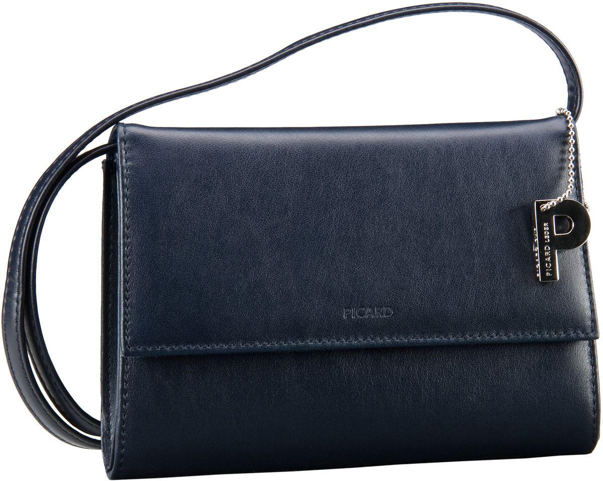 Clutches für Frauen - Picard Abendtasche Auguri Damentasche Ozean (innen Blau)  - Onlineshop Taschenkaufhaus