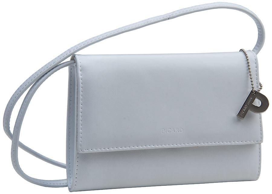 Clutches - Picard Abendtasche Clutch Auguri Damentasche Weiß (innen Beige)  - Onlineshop Taschenkaufhaus