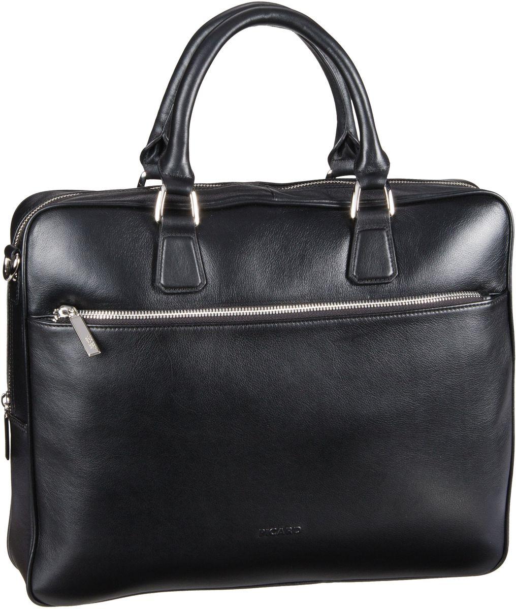 Businesstaschen für Frauen - Picard Aktentasche Maggie Aktentasche Schwarz  - Onlineshop Taschenkaufhaus