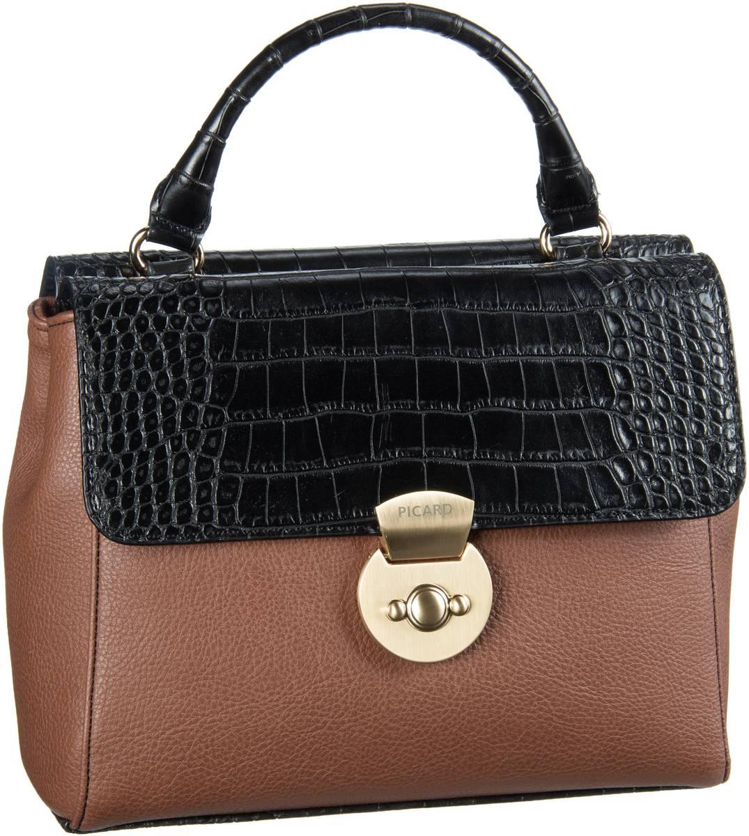 Picard Geli 2193 Handtasche Cognac/Kombi - Sale Angebote Haasow