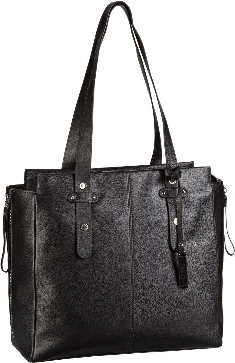 Handtasche Daily 8765 Schwarz