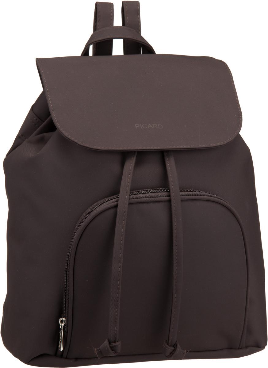 Rucksaecke für Frauen - Picard Rucksack Daypack Tiptop 2498 Cafe  - Onlineshop Taschenkaufhaus