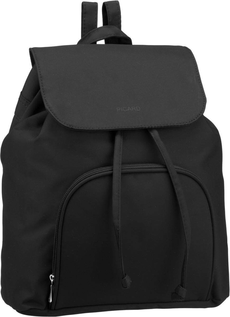 Rucksaecke für Frauen - Picard Rucksack Daypack Tiptop 2498 Schwarz  - Onlineshop Taschenkaufhaus