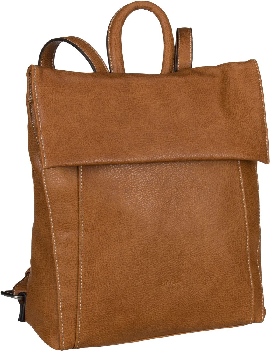Rucksaecke für Frauen - Picard Rucksack Daypack Skylar 2512 Whisky  - Onlineshop Taschenkaufhaus