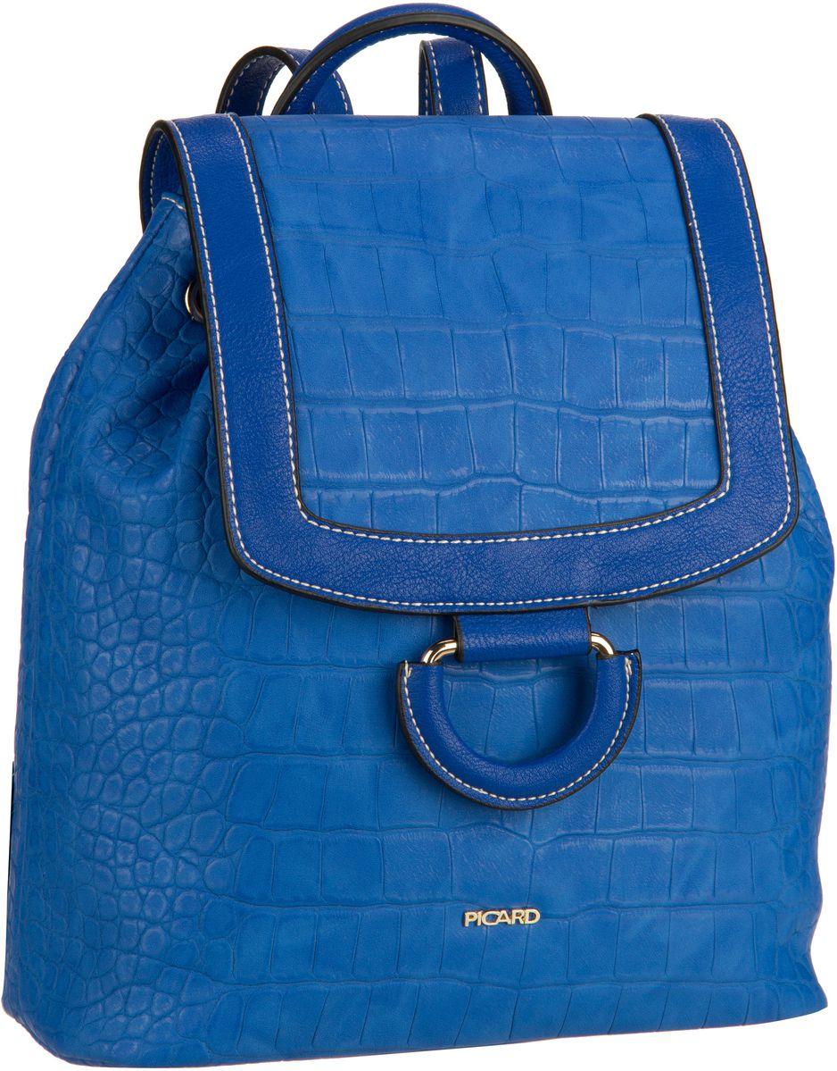 Rucksaecke für Frauen - Picard Rucksack Daypack Sammy 2339 Atoll  - Onlineshop Taschenkaufhaus