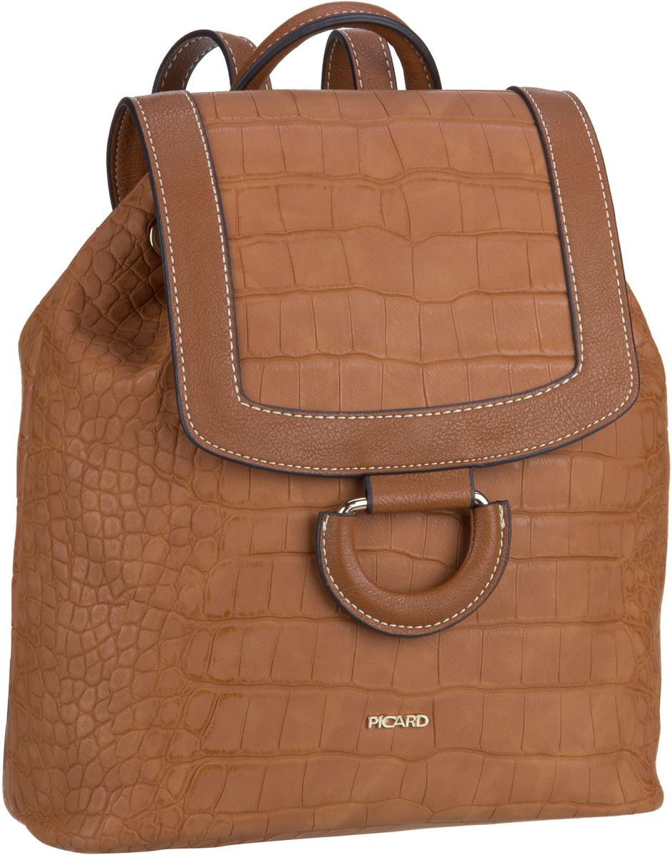 Rucksaecke für Frauen - Picard Rucksack Daypack Sammy 2339 Coconut  - Onlineshop Taschenkaufhaus