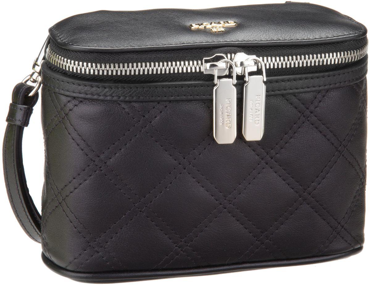 Clutches für Frauen - Picard Abendtasche Fascinate 9011 Schwarz  - Onlineshop Taschenkaufhaus