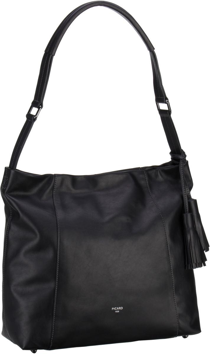 Handtaschen für Frauen - Picard Handtasche Cuddly 4559 Schwarz  - Onlineshop Taschenkaufhaus