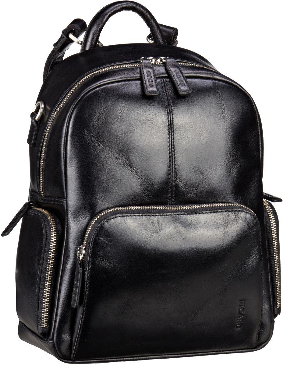 Rucksaecke für Frauen - Picard Rucksack Daypack Buddy 4637 Schwarz  - Onlineshop Taschenkaufhaus