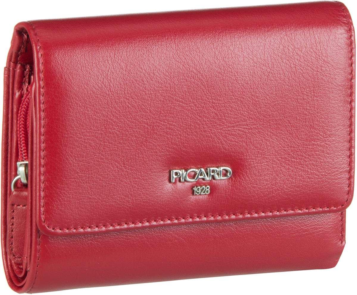 Geldboersen für Frauen - Picard Geldbörse Bingo 8489 Rot  - Onlineshop Taschenkaufhaus