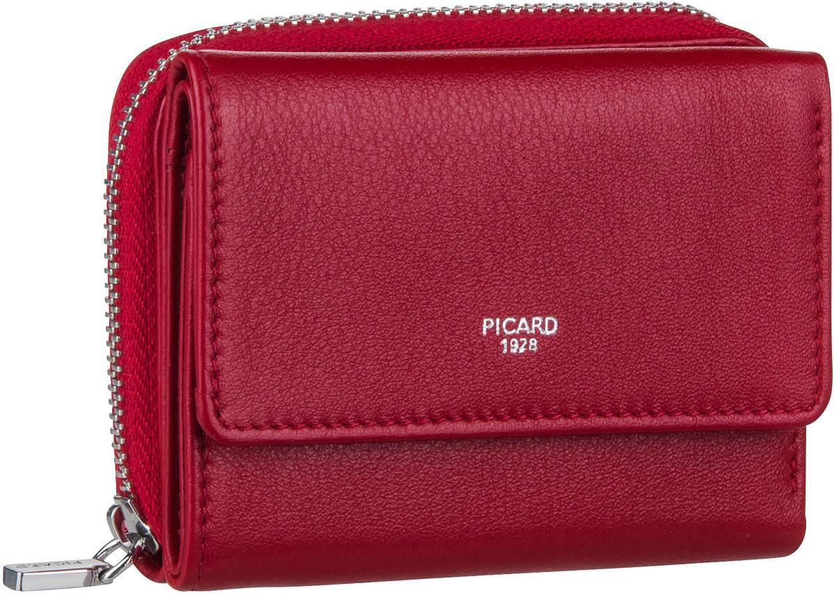 Geldboersen - Picard Geldbörse Bingo 9445 Rot  - Onlineshop Taschenkaufhaus