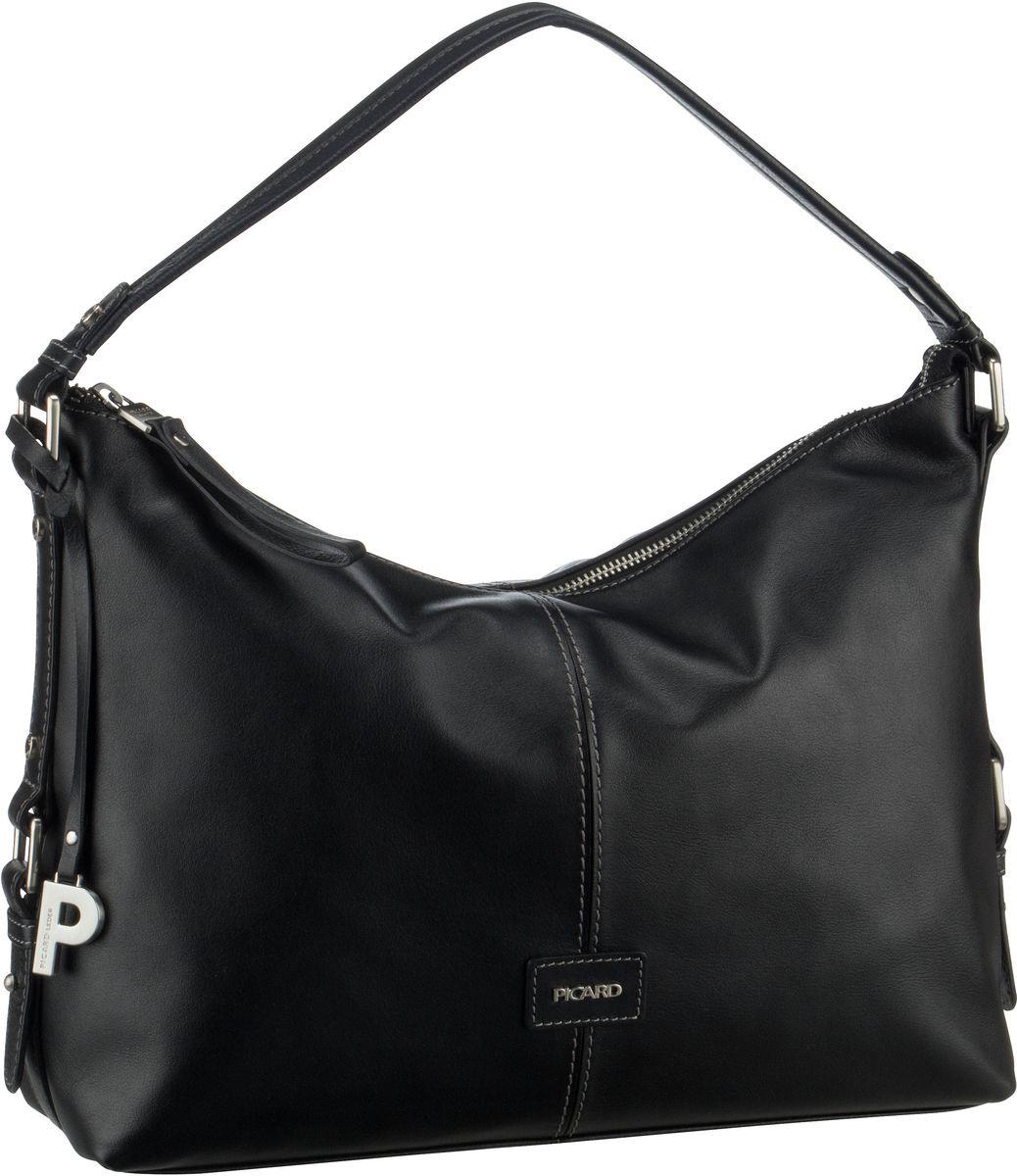 Handtasche Smooth 9350 Schwarz