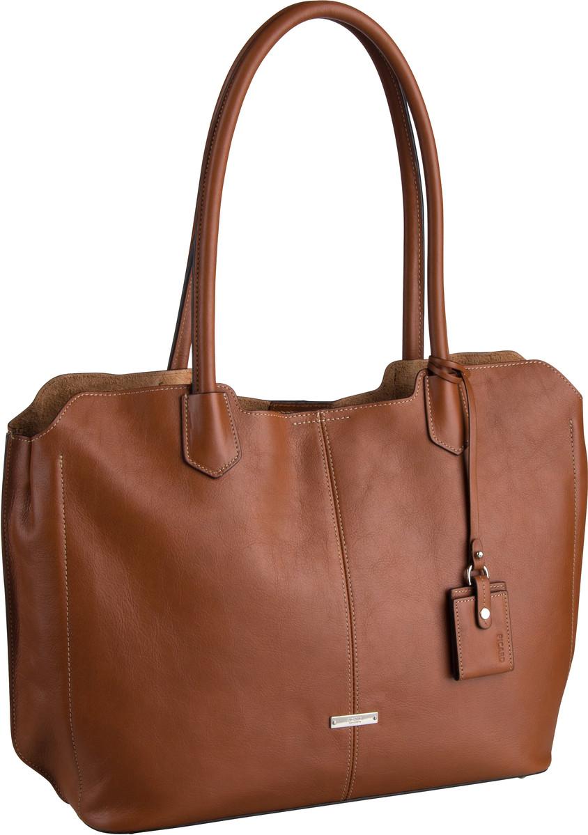 Handtasche Denise 9354 Cognac