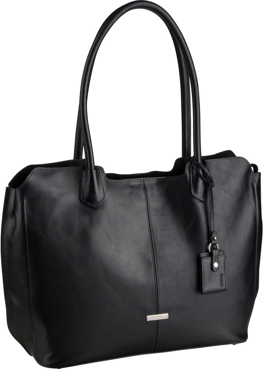 Handtasche Denise 9354 Schwarz