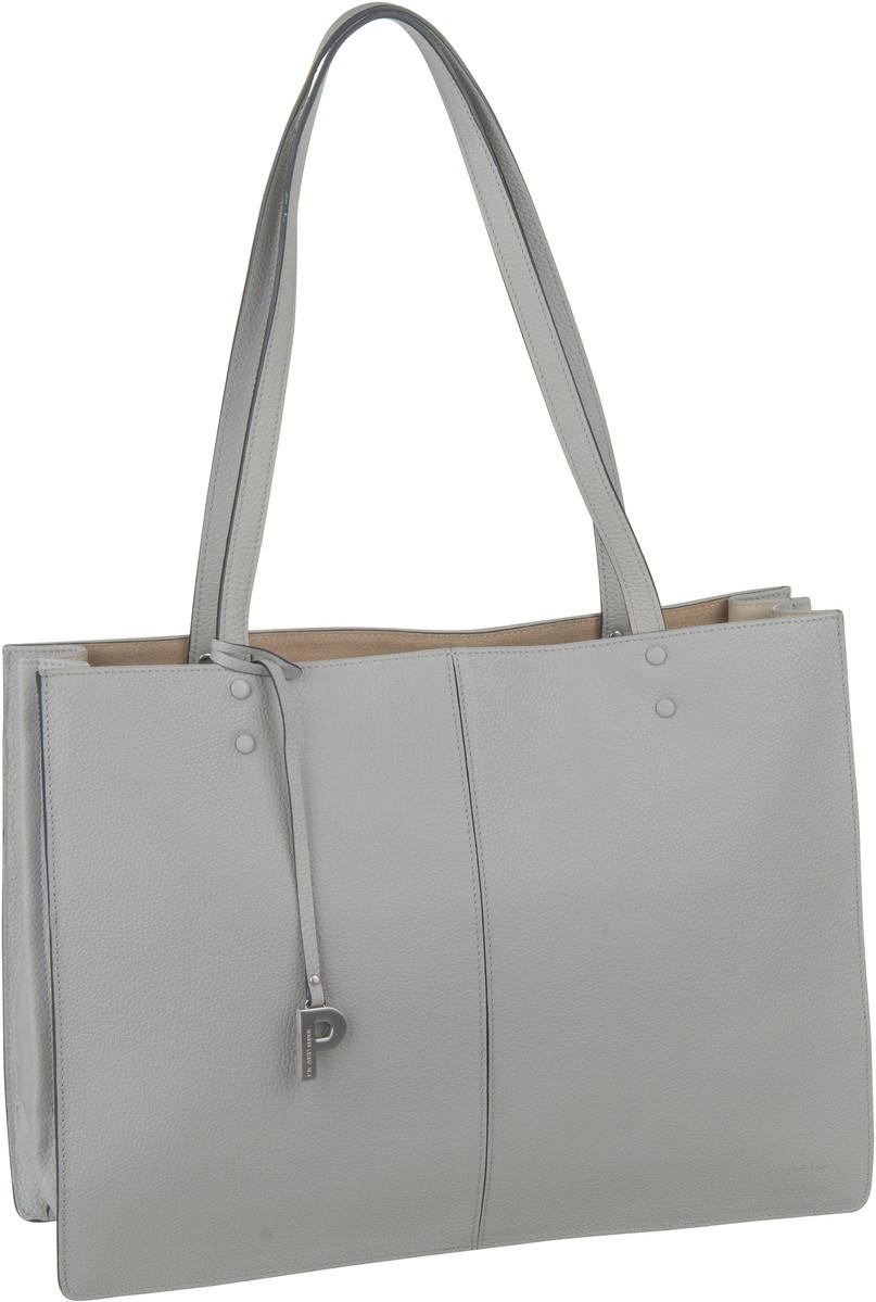 Handtasche Parisienne 9395 Kiesel