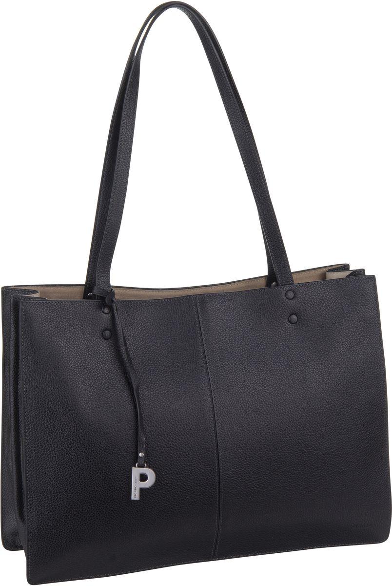 Handtasche Parisienne 9395 Schwarz