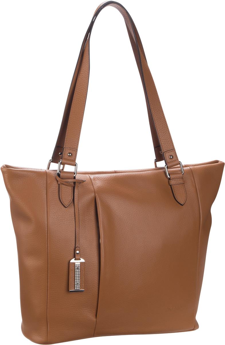 Handtasche Pure 9428 Cognac