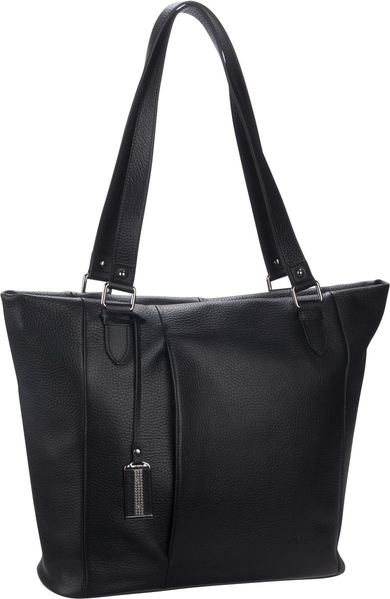 Handtasche Pure 9428 Schwarz