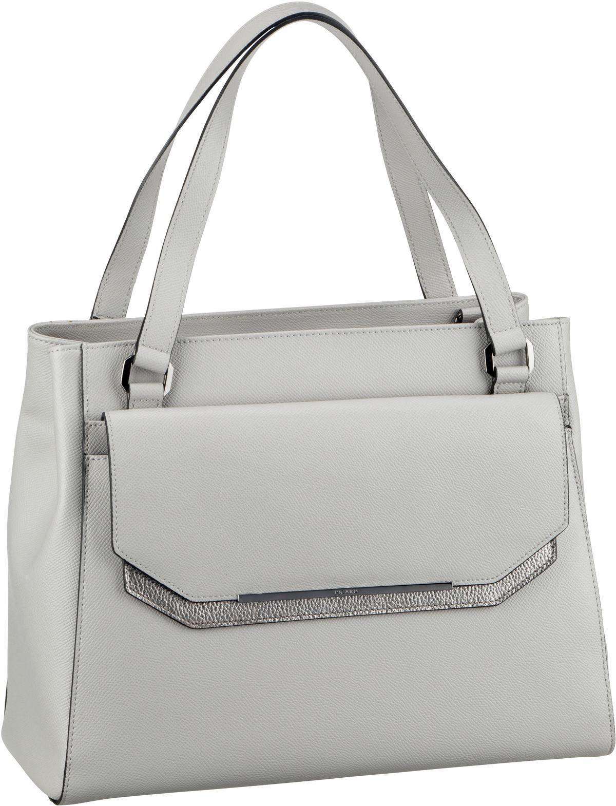 Handtasche 2Way 9505 Kiesel/Kombi