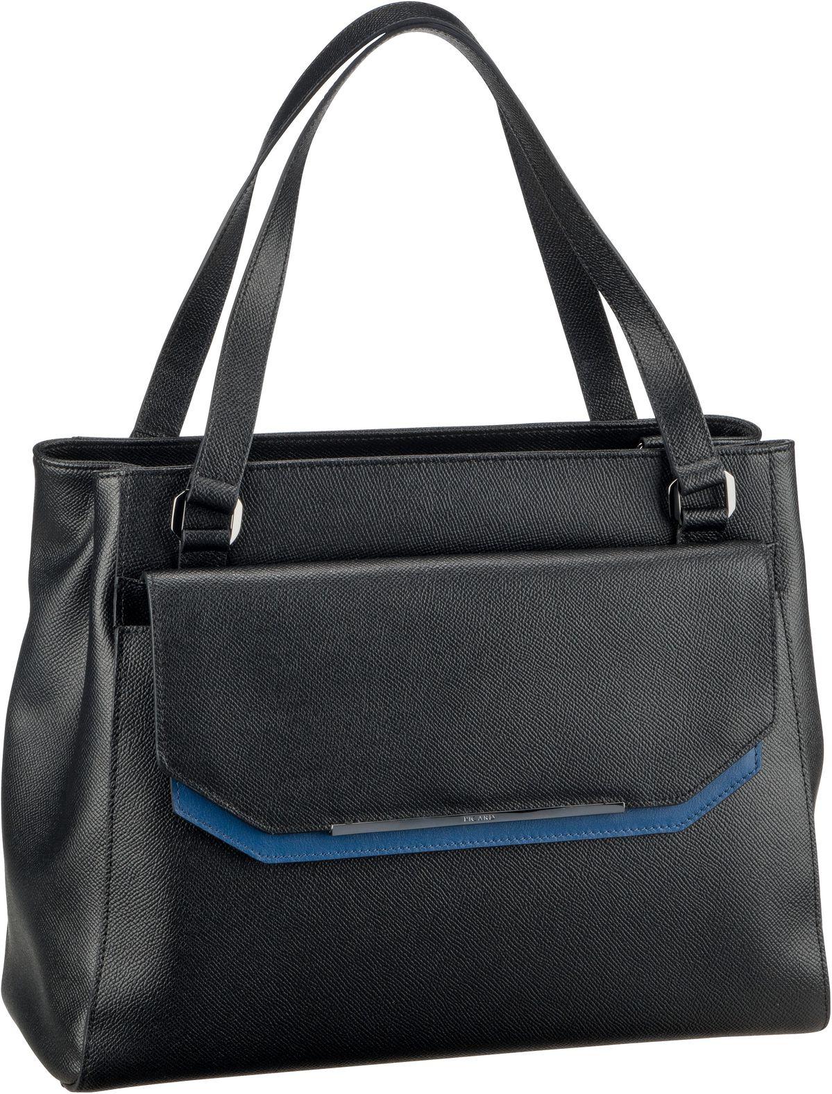 Handtasche 2Way 9505 Schwarz/Kombi