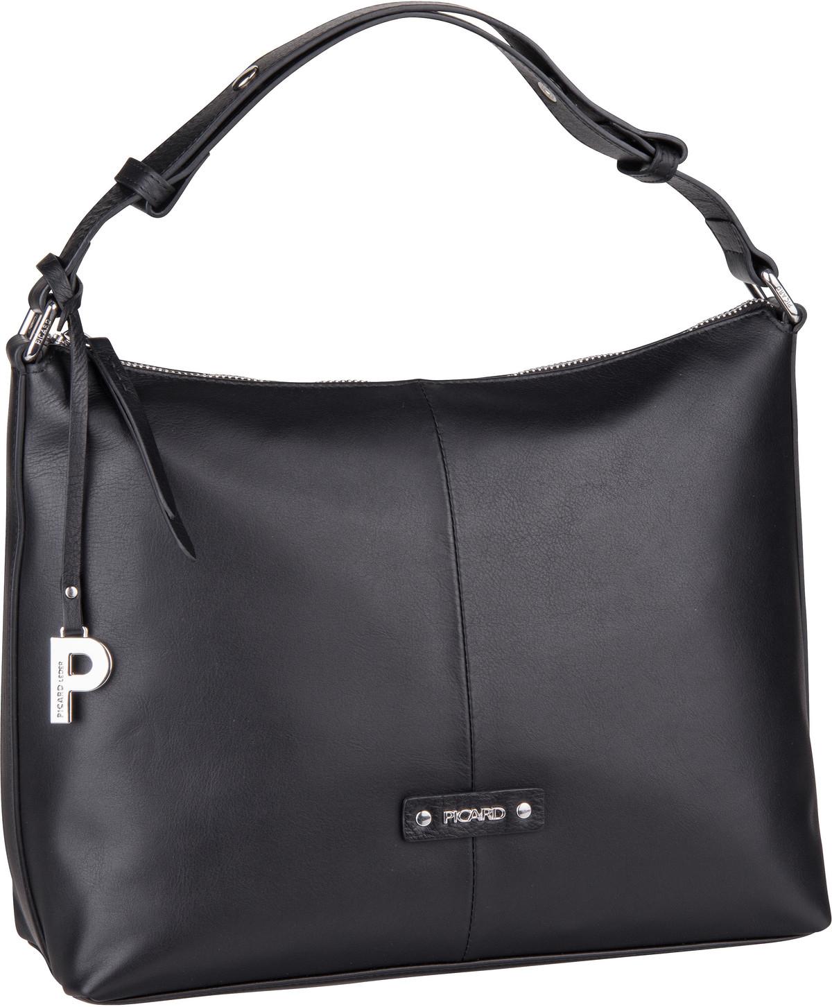 Handtasche Softy 9592 Schwarz