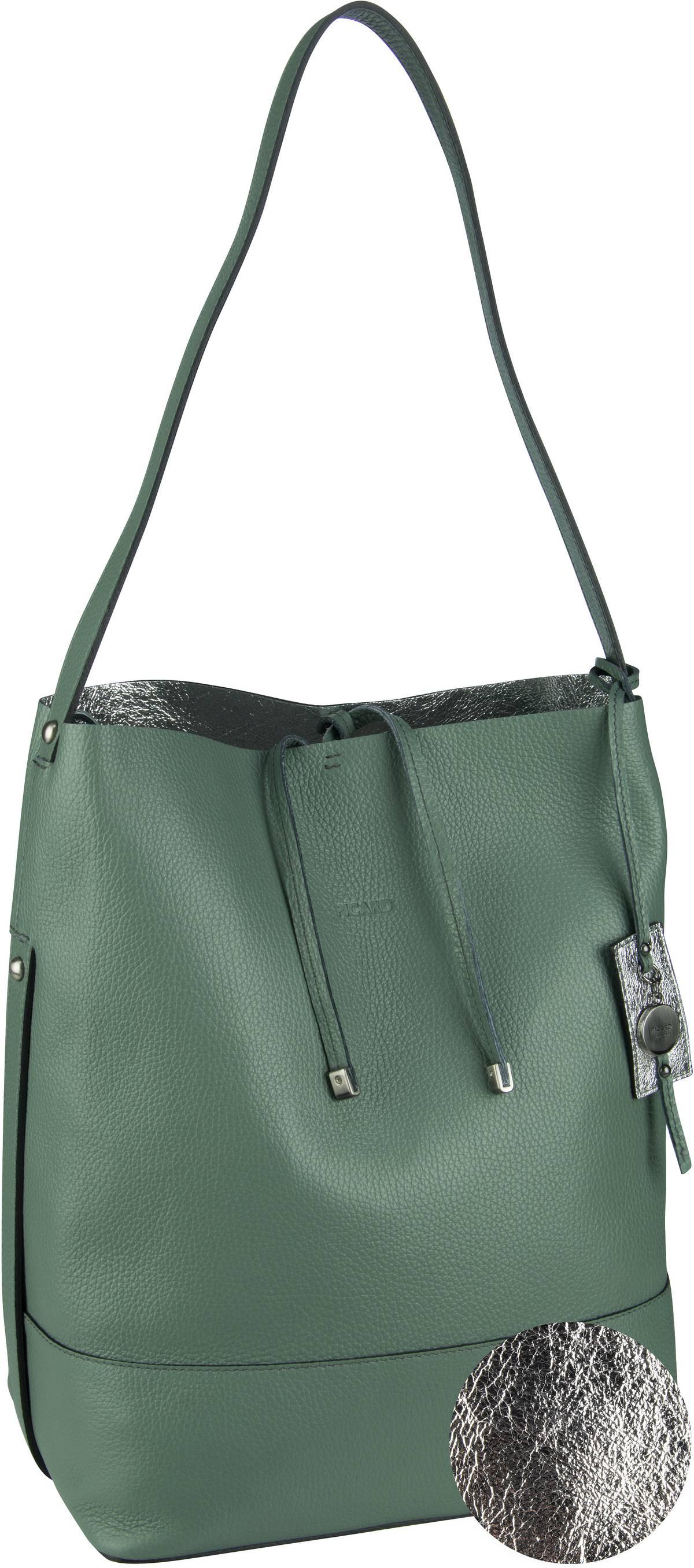 Handtasche Eclectic 4898 Salvia (innen: Silber)