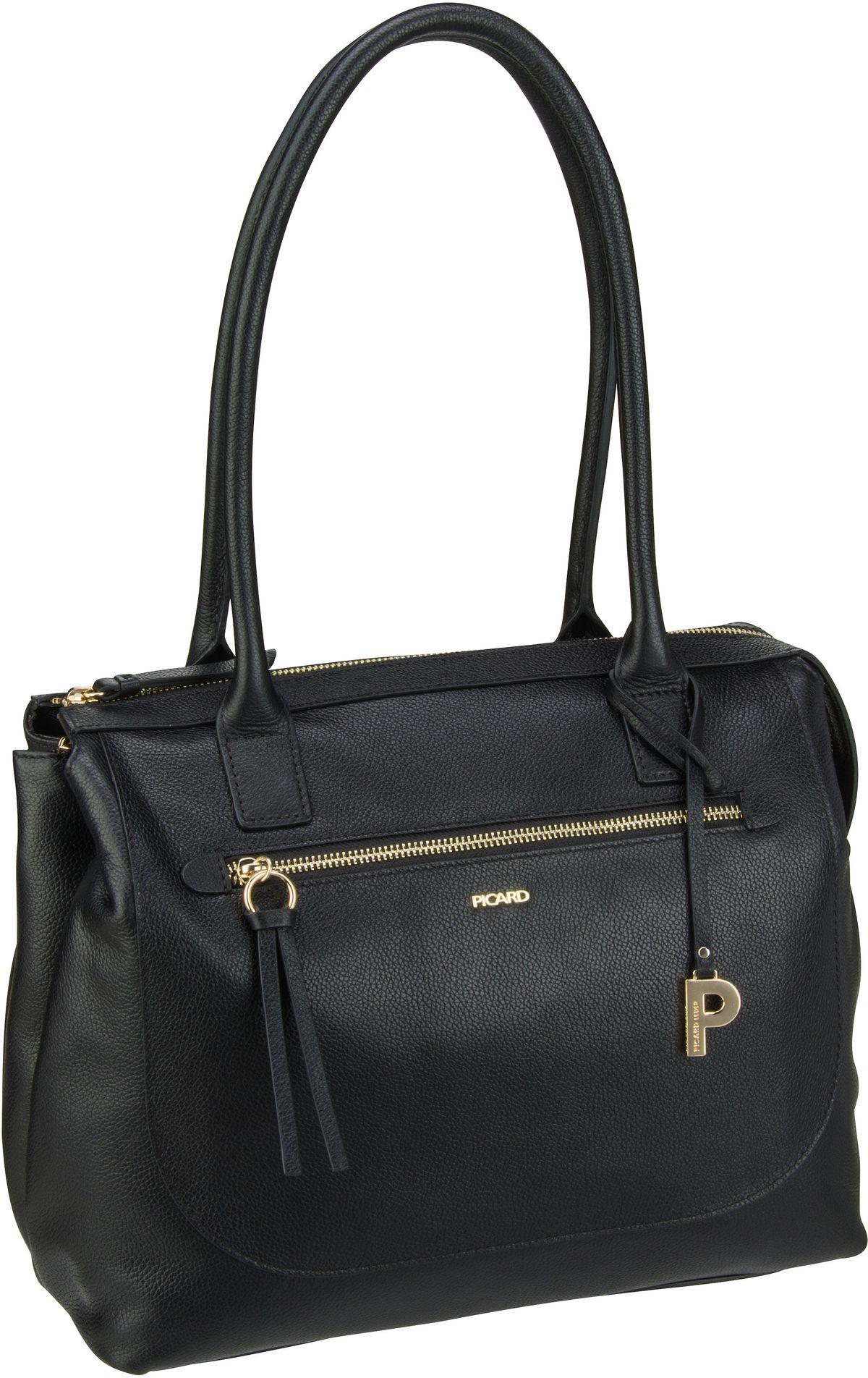 Handtasche Fengshui 9377 Schwarz