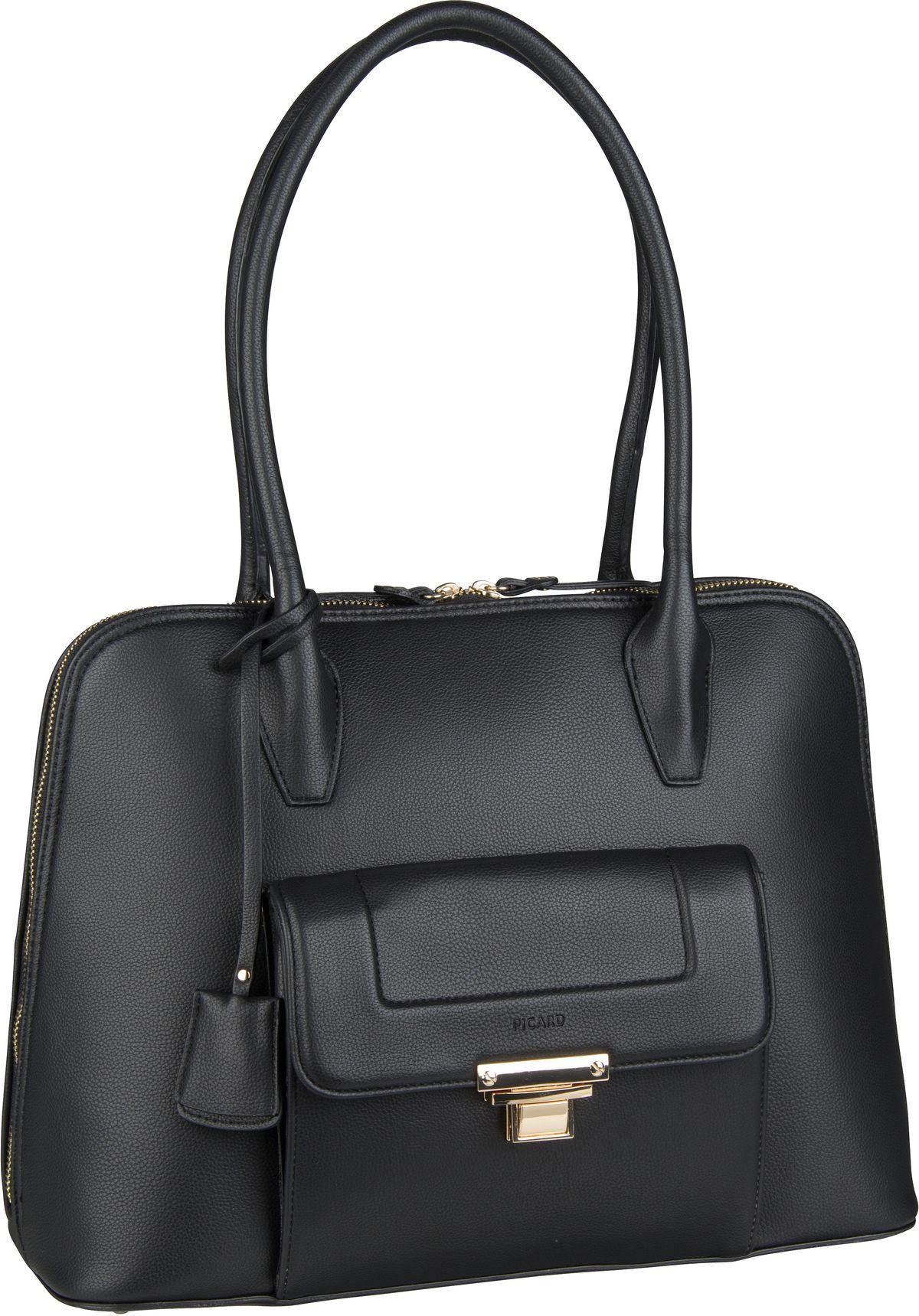 Handtasche Megan 9527 Schwarz