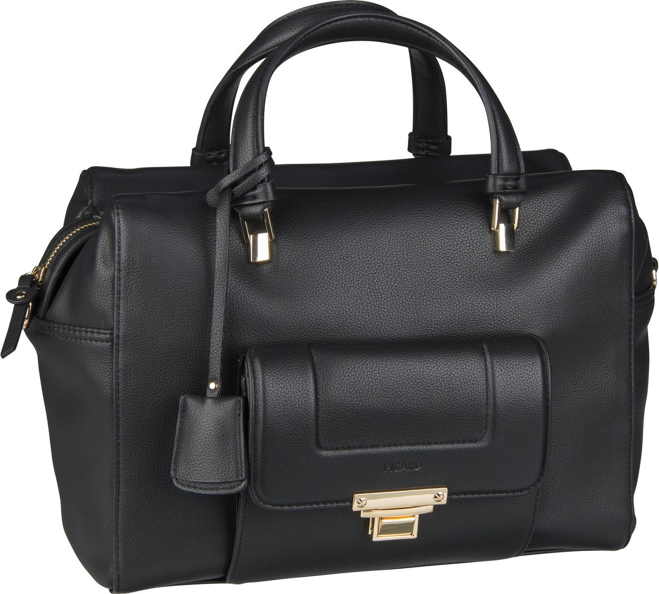 Handtasche Megan 9528F Schwarz