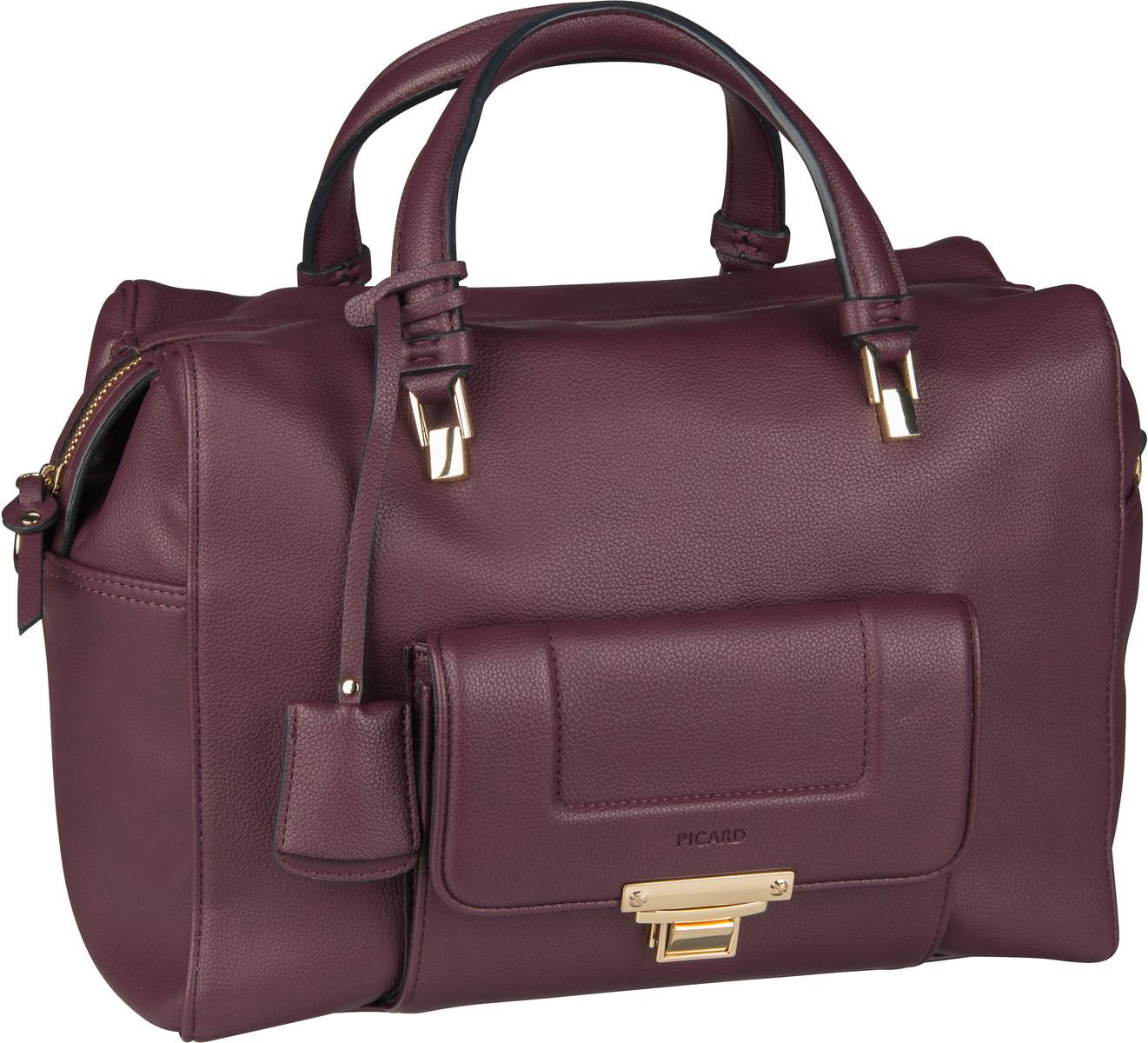 Handtasche Megan 9528F Vino