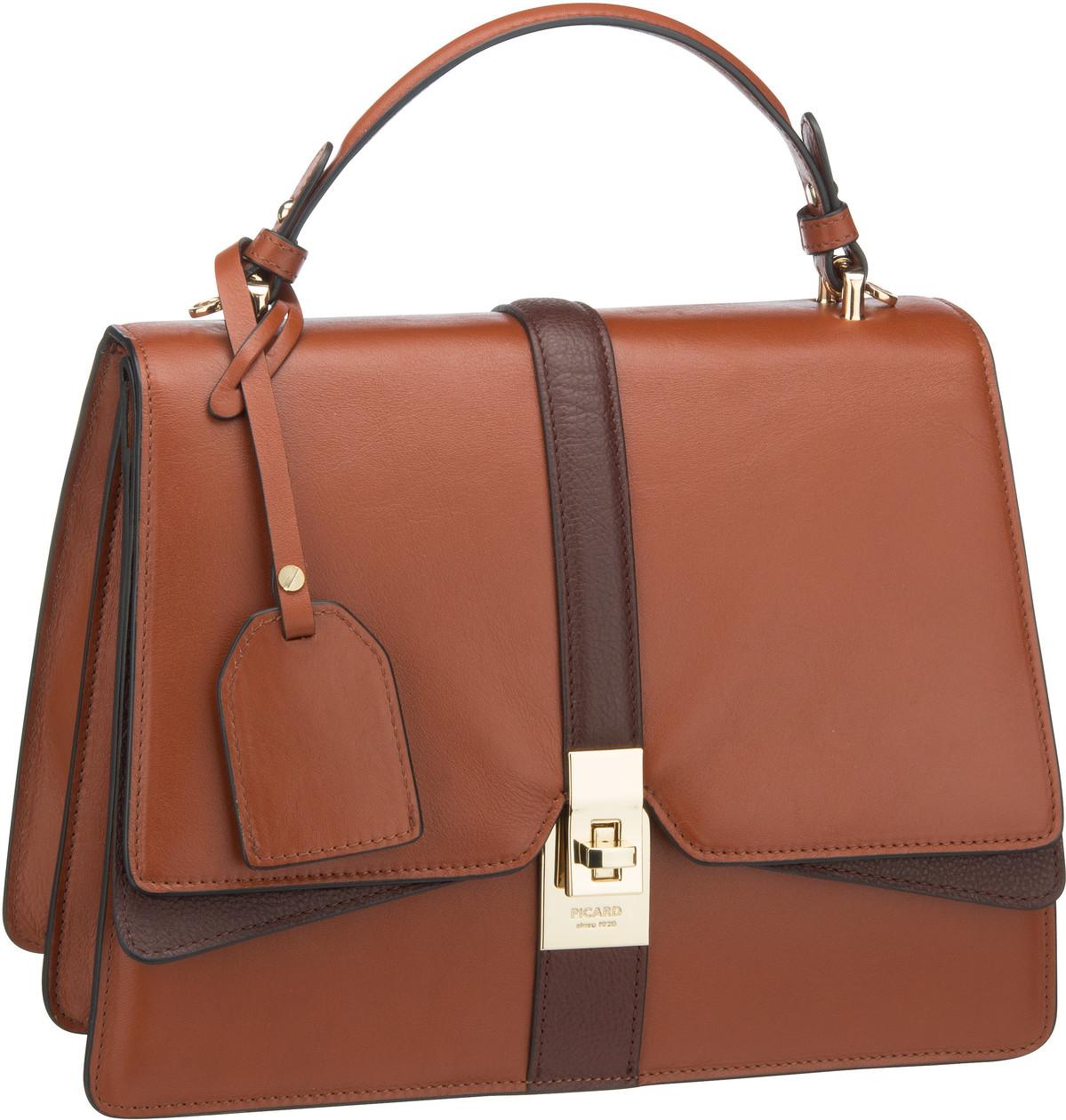 Handtasche Musical 9670 Cognac