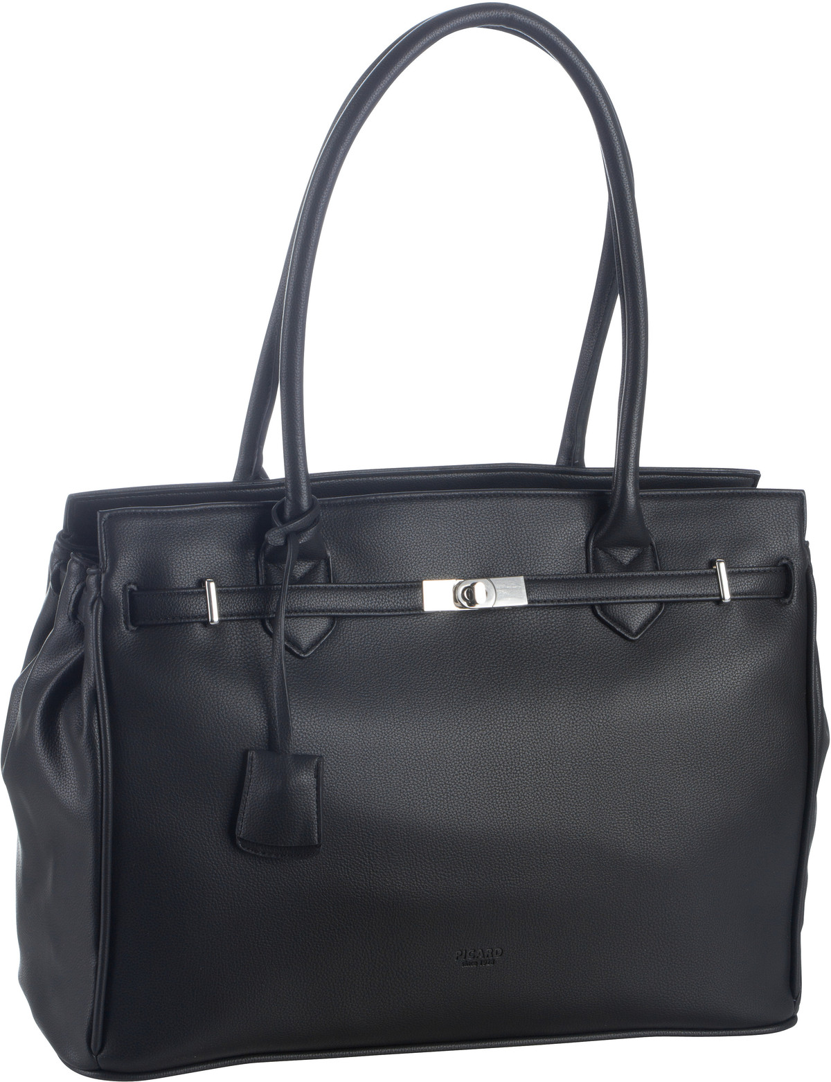 Handtasche New York 9680 Schwarz